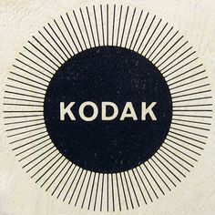 Kodak Carousel (Squared Circle) #white #packaging #camera #kodak #black #vintage #film #logo