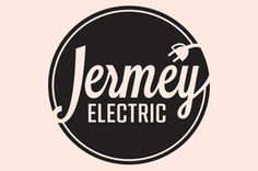 Jermy Electric Branding #electric #business #card #retro #illustration #logo