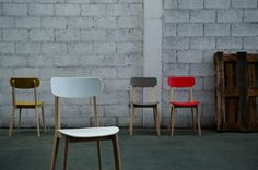 mr smith studio: cream chair for calligaris #boom #calligaris #smith #cream #chair #studio #mr