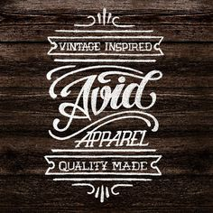 Beautiful Type Teresa Wozniak | Allan Peters' Blog #lettering #sign #logo #vintage #type #love