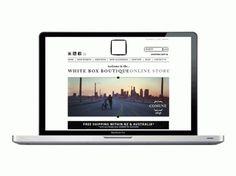 BLACK BOX / WHITE BOX on the Behance Network #white #box #clean #website #minimal #fashion