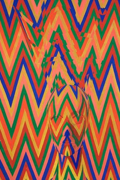 Sascha Braunig | PICDIT #pattern #design #color #painting #art #colour