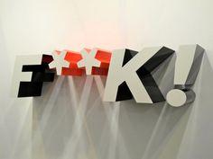 Tumblr #reality #installation #typography