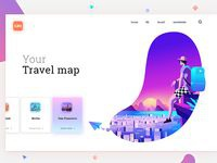 Your Travel Map #colors
