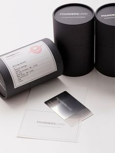 Founderscard Membership Card #packaging