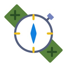 See more icon inspiration related to compass, direction, location, Tools and utensils, cardinal points and orientation on Flaticon.