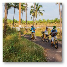 Hidden Hues of Rachol On your Rachol ride, get greeted with the smell of freshly baked bread and be awed by the stories about Our Lady Of Snows, the oldest church of South Goa. #letsblive #funoverfuel #fun #ev #ecotourism #eco #tours #ebikes #discovery #goavibes 🌴 #goatourism #goaindiatravel #travel #instatravel #instagoa #wanderlust #swadesdarshan #rachol #hiddenhuesofrachol
