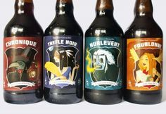 Le Trefle Noir #packaging #beer #label #bottle