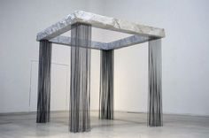 EXHIBITION OMBRE VERDI BY HIDETOSHI NAGASAWA AT THE MACRO IN ROME #sculpture #installation #modern #exhibition #square