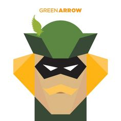 365 - Jag Nagra: Graphic Design for Print: Vancouver #superhero #illustration #arrow #comics #green