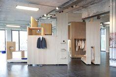COS Pop up shop for Salone del Mobile, Milan store design #retail