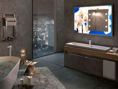 New Unica Line of Mirrors and Furnishings by Cantoni
