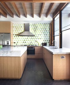 Australian House with Elegant Modern Spirit - kitchen, #kitchendesign, kitchen ideas, interior design, #kitchen