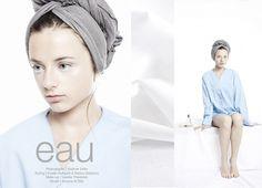 EAU | Volt Café | by Volt Magazine #beauty #design #graphic #volt #photography #art #fashion #layout #magazine #typography