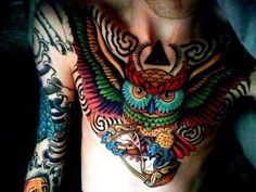 FFFFOUND! | Tattoos by Tattoo Lovers Fotos - Tattoo Photos of the Day #illustration #tattoo #owl