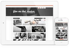 Give Me That Madam by Joost Huver #joost #interactive #ipad #design #huver #interface #webdesign #web