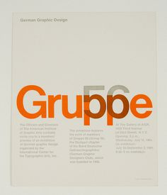 German Graphic Design Gruppe 56