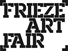 Frieze Art Fair logotype by GTF
