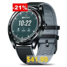 Zeblaze #NEO #Full-round #Touch #Screen #Smart #Watch #- #BLACK