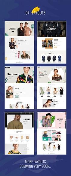 #Floral - #Fashion #Studio - #Prestashop #Responsive #Theme | #TemplateTrip #eCommerce #Website #Design #Template