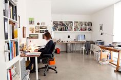 Christoph Niemann #imac #table #room #work