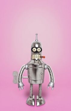 Juan Carlos Luengo - TOY IN PINK! #pink #bender #photography #futurama #toy