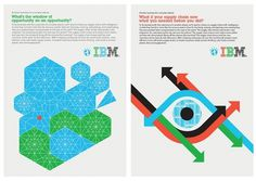Office | Work | IBM / Designing a Smarter Planet #illustration #poster