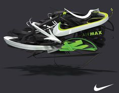 Air Max Lunar   Kent Floris Illustration
