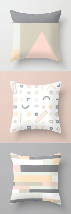 Throw Pillow In Stock • $20 #cushion #home #decoration #minimal #pastel