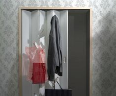 Confused about what to wear, hang out your choices on the closet door, and decide. Saves time besides space. #design #decor #home #product #industrial
