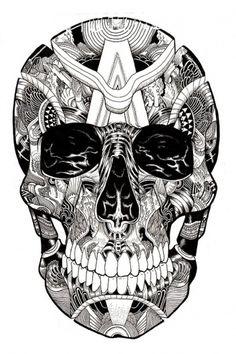 Skulltastic on the Behance Network #skull