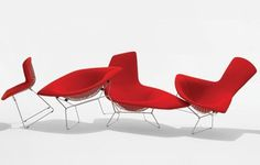 Knoll - Designers #bertoia #harry #chair #diamond #knoll