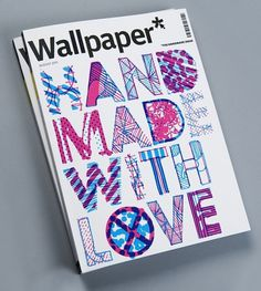 Wallpaper* on the Behance Network #cover #illustration