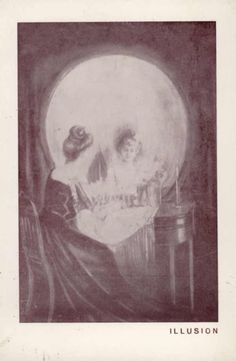 [All is vanity] [picture] , State Library of Victoria #illusion #phtoography #design #illustration #skull