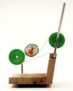 German Sushi Roller #roller #modern #design #sushi #wood #product #german
