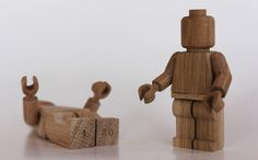 Art Toys ²° on Behance #wood #toys #lego #art