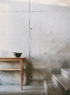 Concrete space. Borja & Lluc house. © Salva López. #concrete #staircase