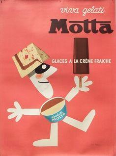 All sizes | Feldman Motta Gelati | Flickr - Photo Sharing! #motta #poster #gelato