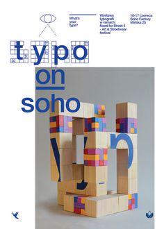 Konrad Sybilski ⚓ Portfolio / works #typography #wood #conceptual #soho #sculpture