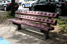 CJWHO ™ (chesterfield park bench by joost goudriaan) #joost #crafts #design #bench #park #photography #art #goudriaan