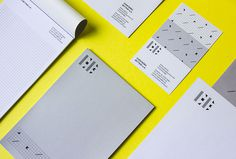 Eventbüro Bettray by Paul Schoemaker #stationary #print #graphic design #yellow