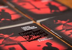 Rose Bruford College #branding #print #poster #art #layout #typography
