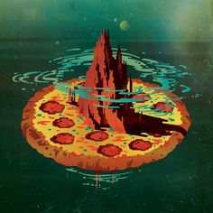 :: e :: #jacob #fi #sci #the #yorker #illustration #pizza #escobedo #editorial #new