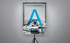 Aire snowboarding contest - ignacio fretes #photo #design #photography #minimal #poster #type #typography