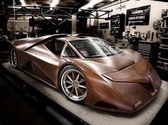 Hand-Made Masterpieces: 10 Hand-Crafted Works of Functional Art #supercar #wood #made #splinter #hand