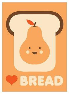 FFFFOUND! | I LOVE Bread | Flickr - Photo Sharing! #design #graphic