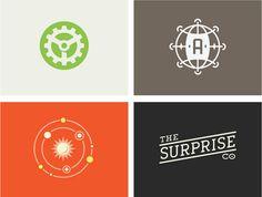 logos by riley cran #simple #logo #color #logos