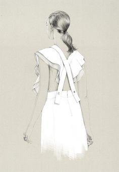 50 Amazing Fashion Sketches #fashion #sketches