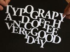 Raúl Iglesias #art #typography