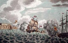 3991098203_910bd7e0aa.jpg (JPEG Image, 500x315 pixels) #illustration #sailing #war #boat